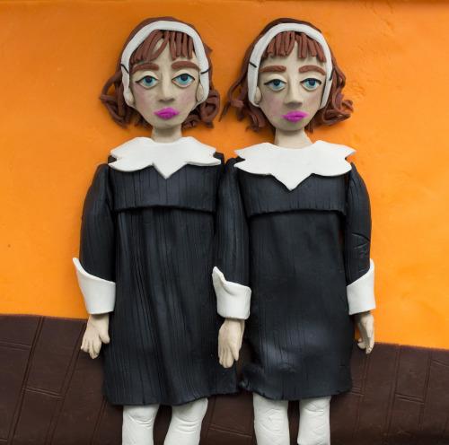 Original photograph: Identical Twins, Roselle, N.J., 1967 by Diane Arbus