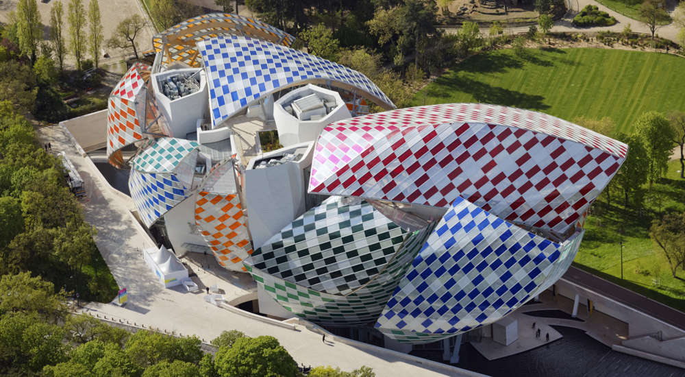© Philippe Guignard / Air Images / Fondation Louis Vuitton