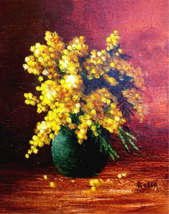 petit bouquet de mimosa