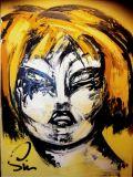 oeuvre de l'artiste Sim : Blonde