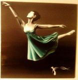 oeuvre de l'artiste PERMAL Jean Marie : danseuse