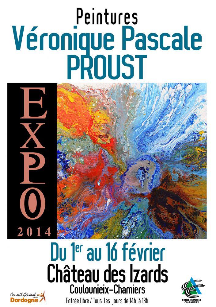 Artiste v ronique pascale proust peinture boulazac ses oeuvres et expositions - Salon international d art contemporain toulouse ...
