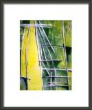 oeuvre de l'artiste HAMEURLAINE Fatima : Abstraction verte