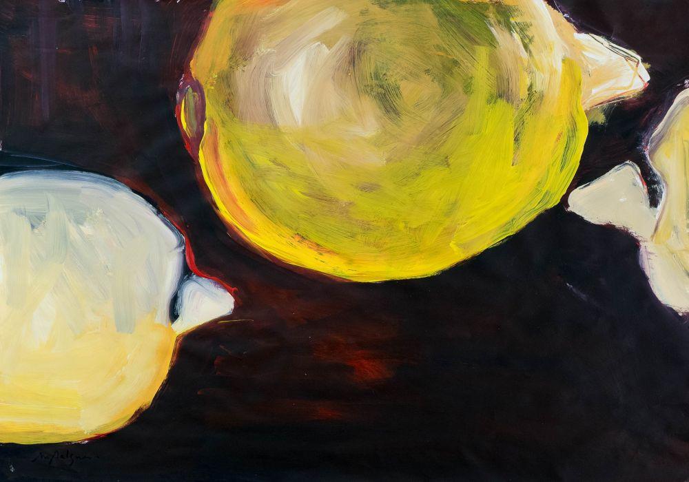 Citrons jaunes de passage