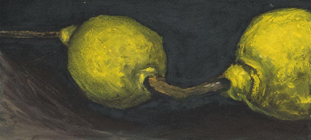 Deux citrons jaunes