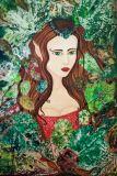 Oeuvre REINE DES ELFES - Artiste IRINA MORO