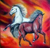 oeuvre de l'artiste Silema : CAVALLI