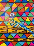 Oeuvre Uccelo - Artiste DJAOUK Myriam