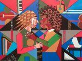oeuvre de l'artiste DJAOUK Myriam : Passion musical