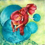 Oeuvre Eléphant - Artiste JOETS Natacha
