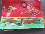 oeuvre de l'artiste Alfaroc : L'aigle