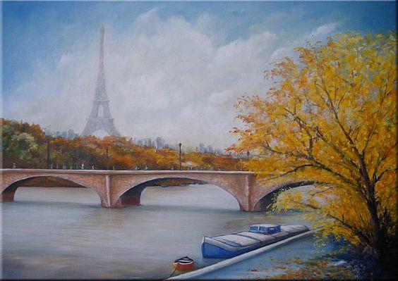 Artiste bruni eric peinture collonges l s premi res for Paris paysage
