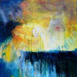 oeuvre de l'artiste LARUE Anne : Lever de soleil sur la vie d'une souris