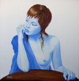 oeuvre de l'artiste PIANA Philippe : Réflexion intense