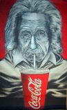 oeuvre de l'artiste ERIC Eric : Einstein and Coke