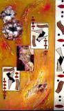 oeuvre de l'artiste LOUGARRE Mireille : Yantra