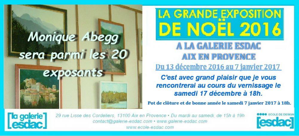 exposition exposition la galerie esdac oeuvres de l 39 artiste abegg monique date exposition. Black Bedroom Furniture Sets. Home Design Ideas