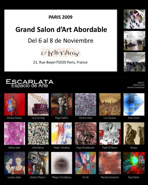 Exposition grand salon d 39 art abordable oeuvres de l for Grand salon d art abordable