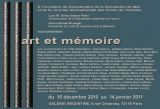 Art & Mémoire