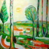 oeuvre de l'artiste BAYART Anne-laure : Midi en Charente