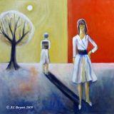 oeuvre de l'artiste BAYART Anne-laure : L'absente