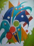 oeuvre de l'artiste Isaox : Jeu d'enfant