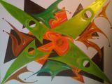 oeuvre de l'artiste Isaox : La Famille