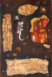 peintures de l'artiste plasticienne magali trivino