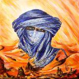 oeuvre de l'artiste BADJI Sihem : Homme bleu