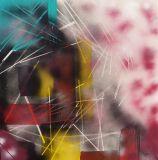 oeuvre de l'artiste Litana : Mikado