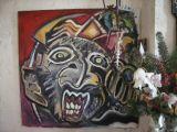 oeuvre de l'artiste Sim : L'AFRICAIN